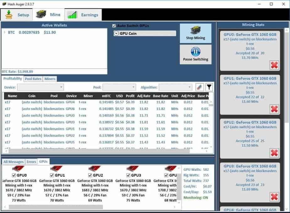 Is Gpu Mining Profitable Nvidia geforce gtx 1060 6gb. is gpu mining profitable