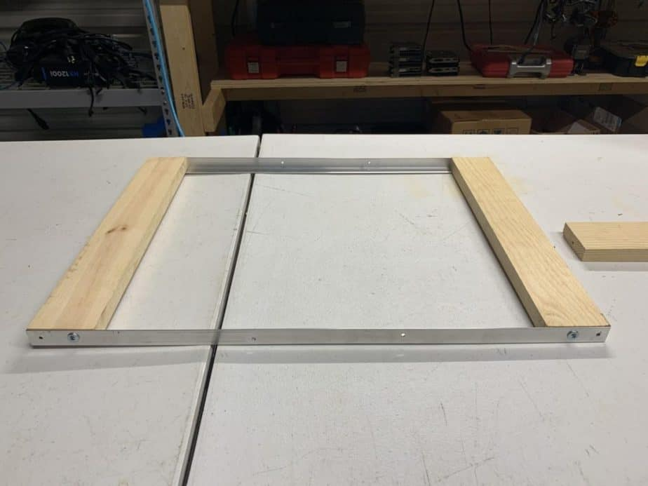 diy mining rig frames step 1